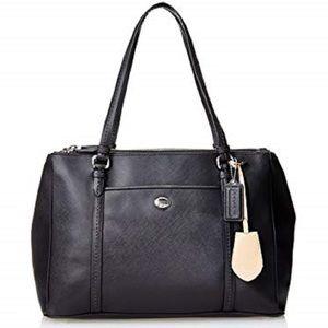 Coach Peyton Leather Jordan Bag